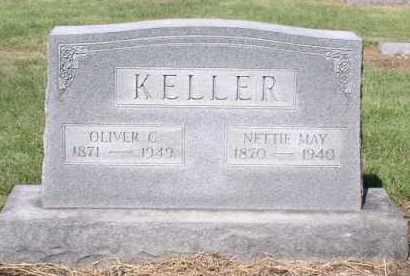 FALK KELLER, NETTIE MAE - Butler County, Ohio | NETTIE MAE FALK KELLER - Ohio Gravestone Photos