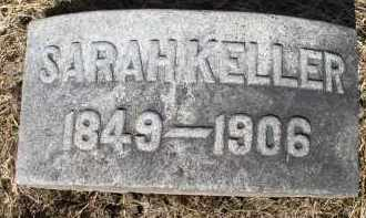 KELLER, SARAH JANE - Butler County, Ohio | SARAH JANE KELLER - Ohio Gravestone Photos