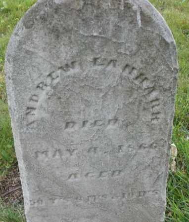 LANHARR, ANDREW - Butler County, Ohio | ANDREW LANHARR - Ohio Gravestone Photos