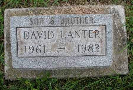 LANTER, DAVID - Butler County, Ohio | DAVID LANTER - Ohio Gravestone Photos