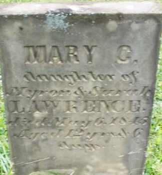 LAWRENCE, MARY C. - Butler County, Ohio   MARY C. LAWRENCE - Ohio Gravestone Photos