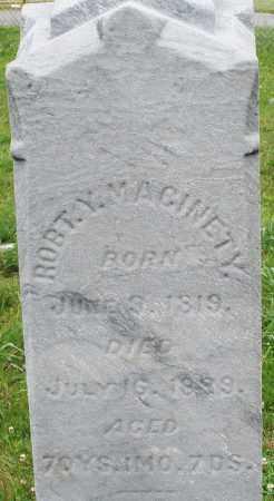 MACINETY, ROBERT Y. - Butler County, Ohio | ROBERT Y. MACINETY - Ohio Gravestone Photos