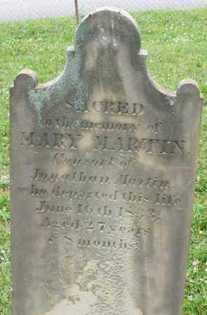 MARTIN, MARY - Butler County, Ohio | MARY MARTIN - Ohio Gravestone Photos