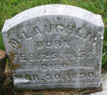 MCGLAUGHLIN, JAMES W. - Butler County, Ohio   JAMES W. MCGLAUGHLIN - Ohio Gravestone Photos