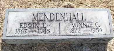 MENDENHALL, MINNIE C. - Butler County, Ohio | MINNIE C. MENDENHALL - Ohio Gravestone Photos