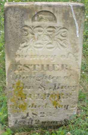 MULFORD, ESTHER - Butler County, Ohio   ESTHER MULFORD - Ohio Gravestone Photos