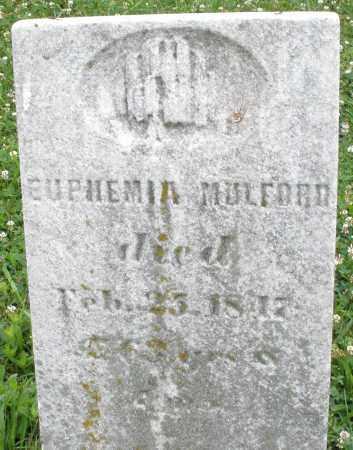 MULFORD, EUPHEMIA - Butler County, Ohio   EUPHEMIA MULFORD - Ohio Gravestone Photos