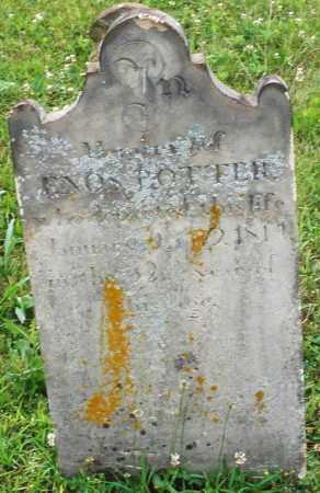 POTTER, ENOS - Butler County, Ohio | ENOS POTTER - Ohio Gravestone Photos