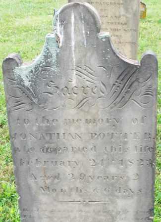 POTTER, JONATHAN - Butler County, Ohio   JONATHAN POTTER - Ohio Gravestone Photos