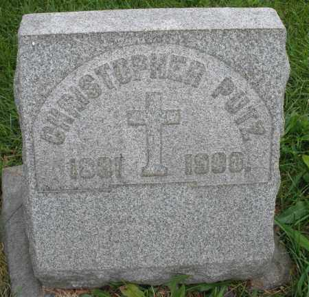 PUTZ, CHRISTOPHER - Butler County, Ohio   CHRISTOPHER PUTZ - Ohio Gravestone Photos