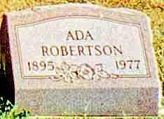 ROBERTSON, ADA - Butler County, Ohio | ADA ROBERTSON - Ohio Gravestone Photos