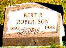 ROBERTSON, ALBERT - Butler County, Ohio | ALBERT ROBERTSON - Ohio Gravestone Photos