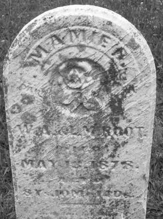 ROOT, MAMIE - Butler County, Ohio   MAMIE ROOT - Ohio Gravestone Photos