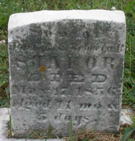 SHAFOR, INFANT SON - Butler County, Ohio | INFANT SON SHAFOR - Ohio Gravestone Photos