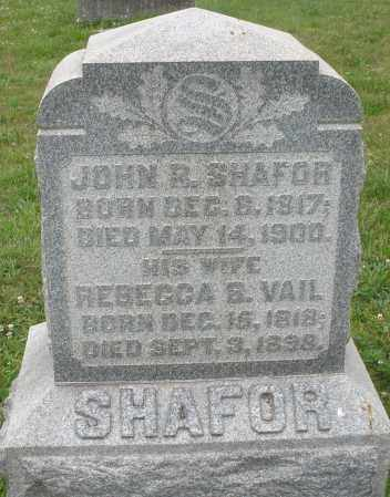 SHAFOR, JOHN R. - Butler County, Ohio | JOHN R. SHAFOR - Ohio Gravestone Photos