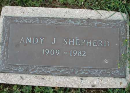 SHEPHERD, ANDY J. - Butler County, Ohio   ANDY J. SHEPHERD - Ohio Gravestone Photos