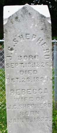 SHEPHERD, J.G. - Butler County, Ohio | J.G. SHEPHERD - Ohio Gravestone Photos