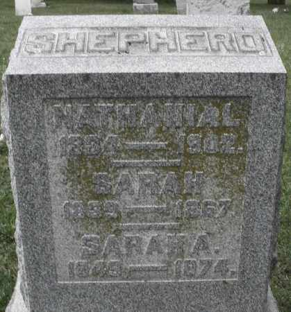 SHEPHERD, NATHANIAL - Butler County, Ohio | NATHANIAL SHEPHERD - Ohio Gravestone Photos
