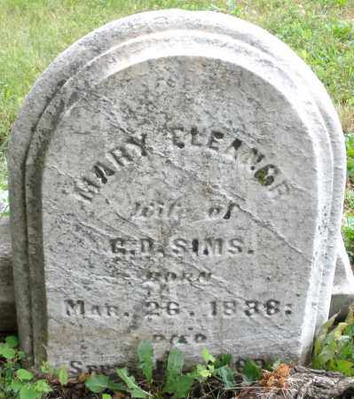 SIMS, MARY ELEANOR - Butler County, Ohio | MARY ELEANOR SIMS - Ohio Gravestone Photos