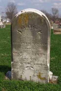 BALL SQUIER, MARY - Butler County, Ohio | MARY BALL SQUIER - Ohio Gravestone Photos