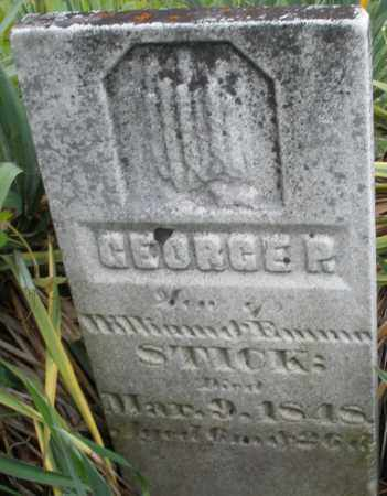 STICK, GEORGE P. - Butler County, Ohio   GEORGE P. STICK - Ohio Gravestone Photos