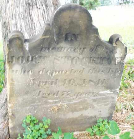 STOCKTON, JOHN - Butler County, Ohio | JOHN STOCKTON - Ohio Gravestone Photos