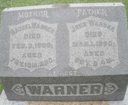 WARNER, RACHEL - Butler County, Ohio | RACHEL WARNER - Ohio Gravestone Photos