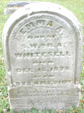 WHITESELL, EMMA A. - Butler County, Ohio   EMMA A. WHITESELL - Ohio Gravestone Photos