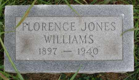 JONES WILLIAMS, FLORENCE - Butler County, Ohio | FLORENCE JONES WILLIAMS - Ohio Gravestone Photos