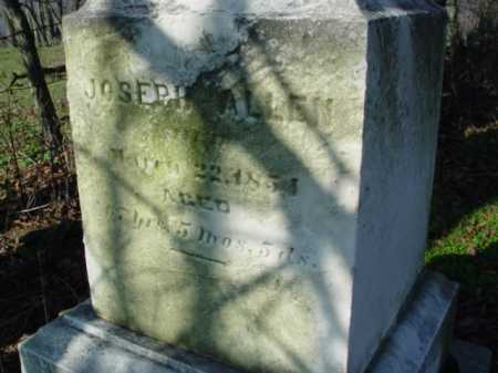 ALLEN, JOSEPH - Carroll County, Ohio   JOSEPH ALLEN - Ohio Gravestone Photos