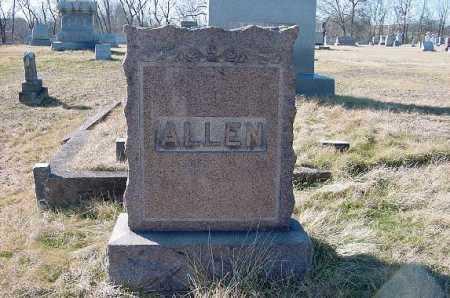 ALLEN, MONUMENT - Carroll County, Ohio   MONUMENT ALLEN - Ohio Gravestone Photos