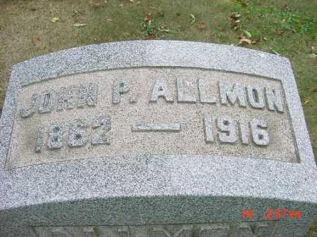 ALLMON, JOHN P. - Carroll County, Ohio   JOHN P. ALLMON - Ohio Gravestone Photos