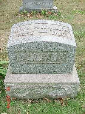 ALLMON, JOHN P. MONUMENT - Carroll County, Ohio | JOHN P. MONUMENT ALLMON - Ohio Gravestone Photos