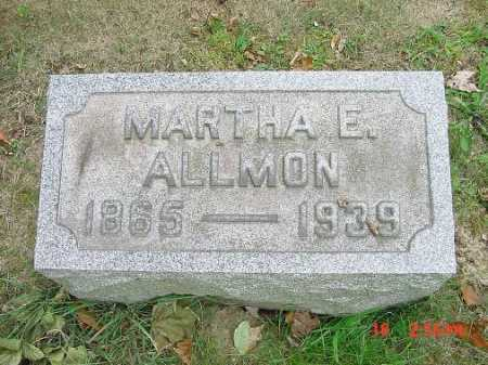 ALLMON, MARTHA E. - Carroll County, Ohio | MARTHA E. ALLMON - Ohio Gravestone Photos