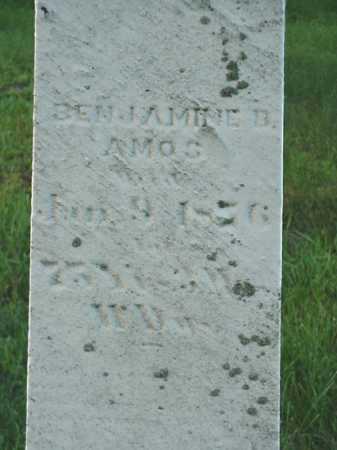 AMOS, BENJAMINE B. - Carroll County, Ohio   BENJAMINE B. AMOS - Ohio Gravestone Photos