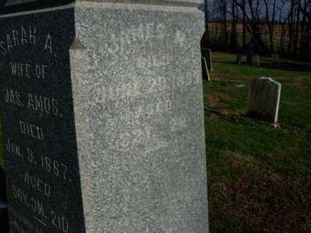 AMOS, JAMES - Carroll County, Ohio   JAMES AMOS - Ohio Gravestone Photos