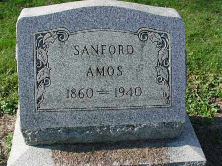 AMOS, SANFORD - Carroll County, Ohio | SANFORD AMOS - Ohio Gravestone Photos