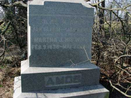 AMOS, SILAS H. - Carroll County, Ohio | SILAS H. AMOS - Ohio Gravestone Photos