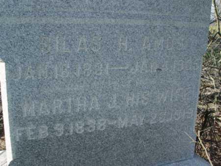 AMOS, MARTHA J. - Carroll County, Ohio | MARTHA J. AMOS - Ohio Gravestone Photos