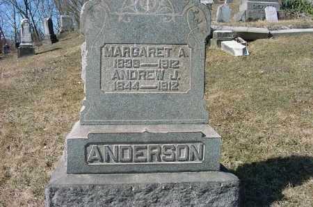 ANDERSON, MARGARET A. - Carroll County, Ohio   MARGARET A. ANDERSON - Ohio Gravestone Photos