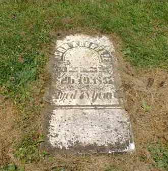 ARBUCKLE, JOHN - Carroll County, Ohio | JOHN ARBUCKLE - Ohio Gravestone Photos
