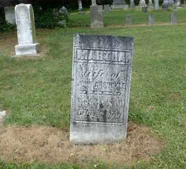 BIGGART ARBUCKLE, MARTHA - Carroll County, Ohio | MARTHA BIGGART ARBUCKLE - Ohio Gravestone Photos