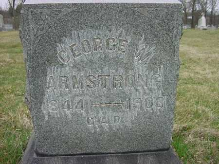 ARMSTRONG, GEORGE W. - Carroll County, Ohio | GEORGE W. ARMSTRONG - Ohio Gravestone Photos
