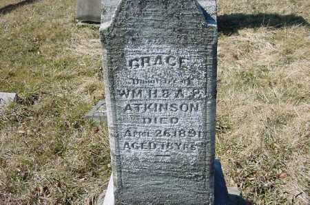 ATKINSON, GRACE - Carroll County, Ohio | GRACE ATKINSON - Ohio Gravestone Photos