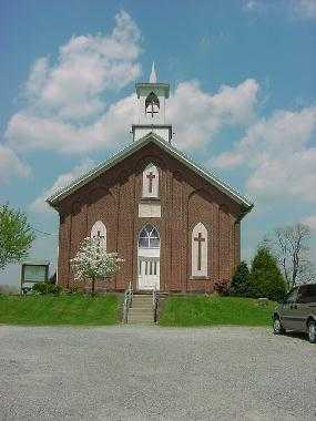 AUGUST CHRISTIAN, CHURCH - Carroll County, Ohio | CHURCH AUGUST CHRISTIAN - Ohio Gravestone Photos