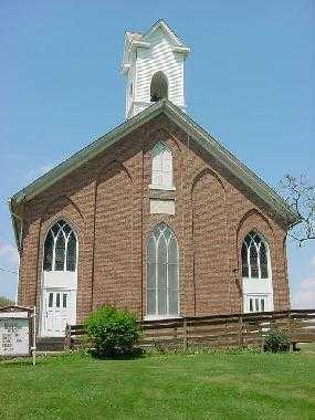AUGUSTA, CHURCH - Carroll County, Ohio | CHURCH AUGUSTA - Ohio Gravestone Photos