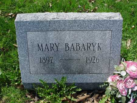 BABARYK, MARY - Carroll County, Ohio | MARY BABARYK - Ohio Gravestone Photos