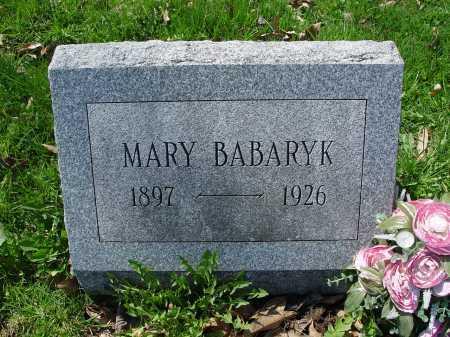 BABARYK, MARY - Carroll County, Ohio | MARY BABARYK - Ohio Gravestone Photos