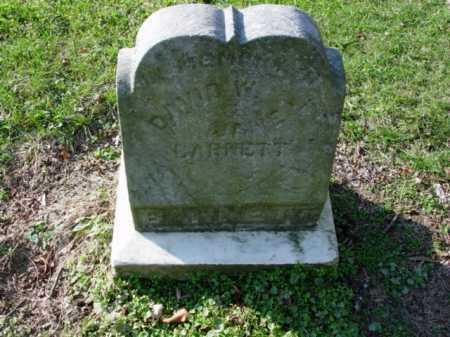 BARNETT, JANE L. - Carroll County, Ohio | JANE L. BARNETT - Ohio Gravestone Photos