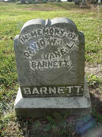 BARNETT, DAVID W. - Carroll County, Ohio | DAVID W. BARNETT - Ohio Gravestone Photos